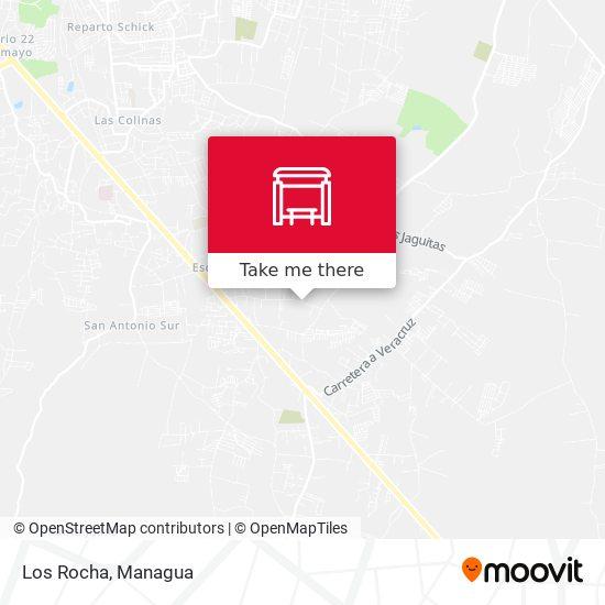 Los Rocha map