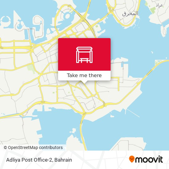 Adliya Post Office-2 map