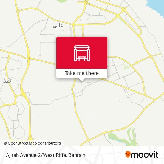 Ajirah Avenue-2/West Riffa map