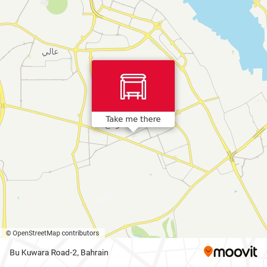 Bu Kuwara Road-2 map