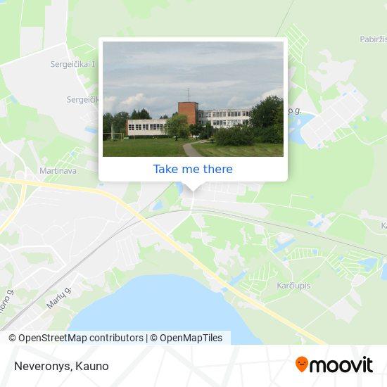 Neveronys map