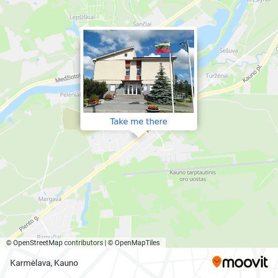 Karmėlava map