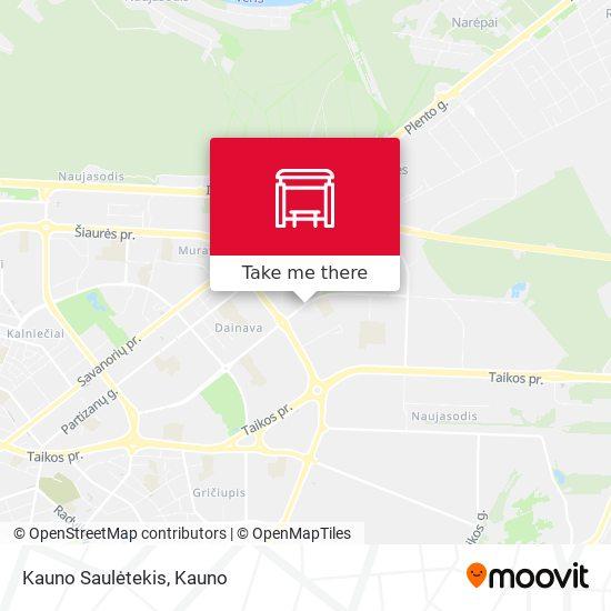 Kauno Saulėtekis map