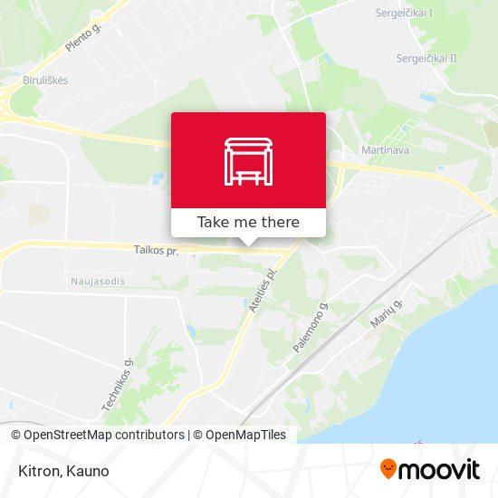 Kitron map