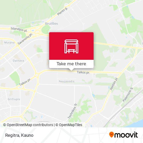 Regitra map