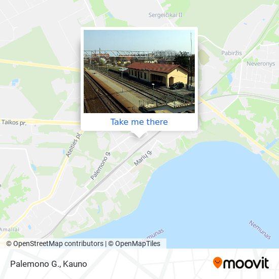 Palemono G. map