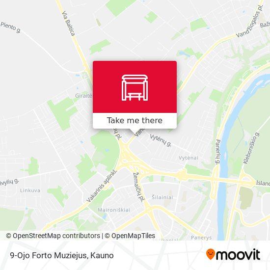 9-Ojo Forto Muziejus map