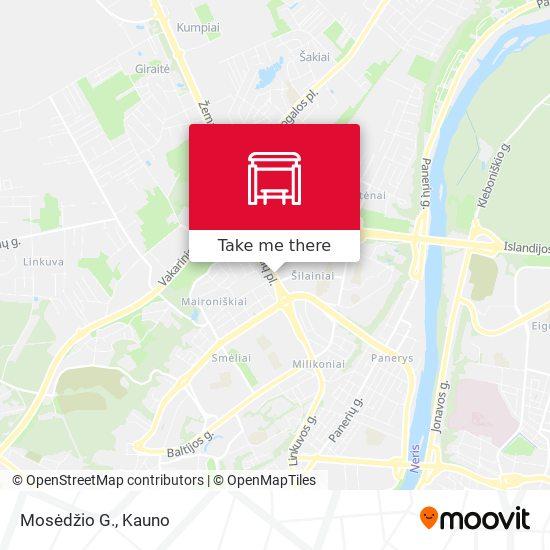 Mosėdžio G. map