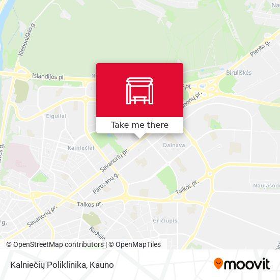 Kalniečių Poliklinika map