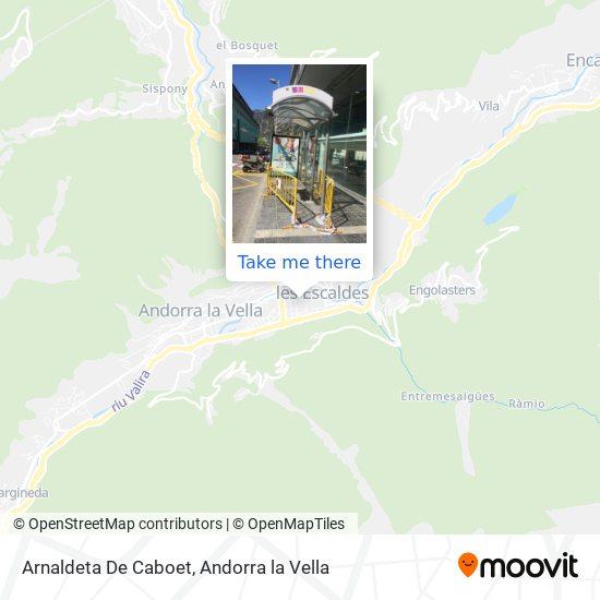Arnaldeta De Caboet map