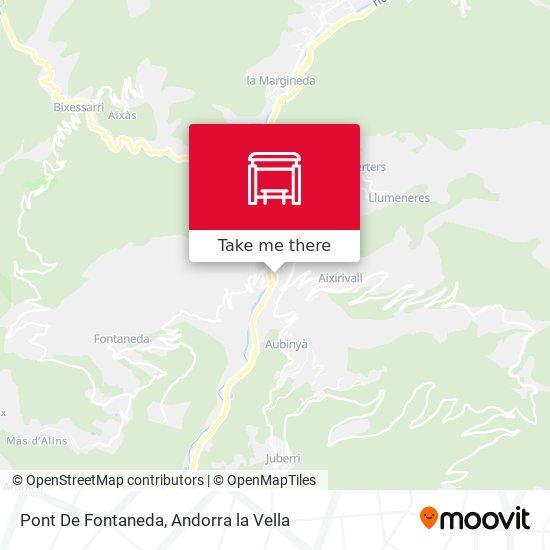Pont De Fontaneda map