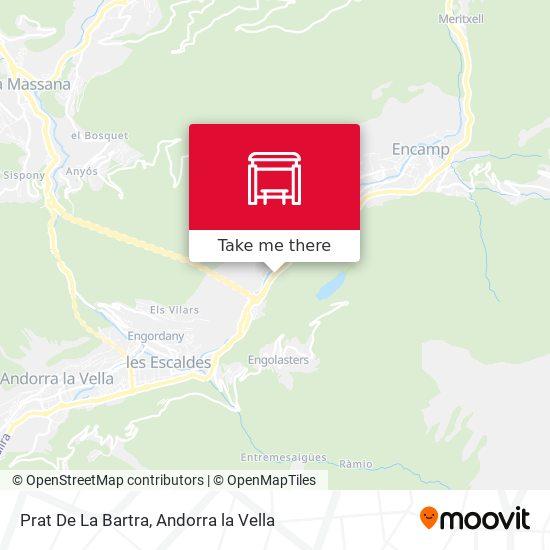 Prat De La Bartra map
