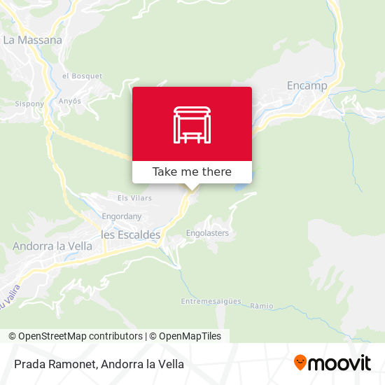 Prada Ramonet map