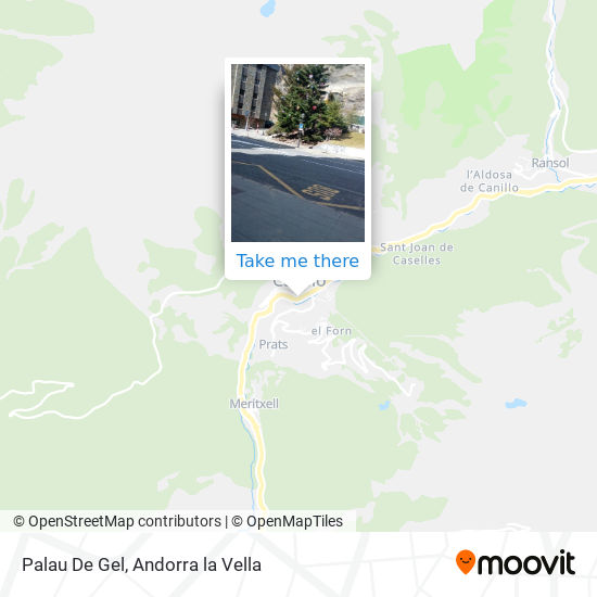 Palau De Gel map