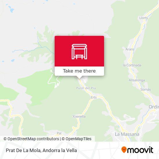 Prat De La Mola map