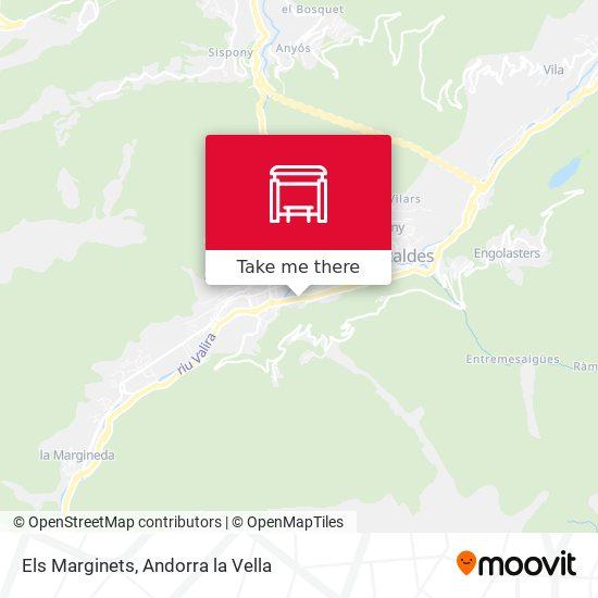 Els Marginets map