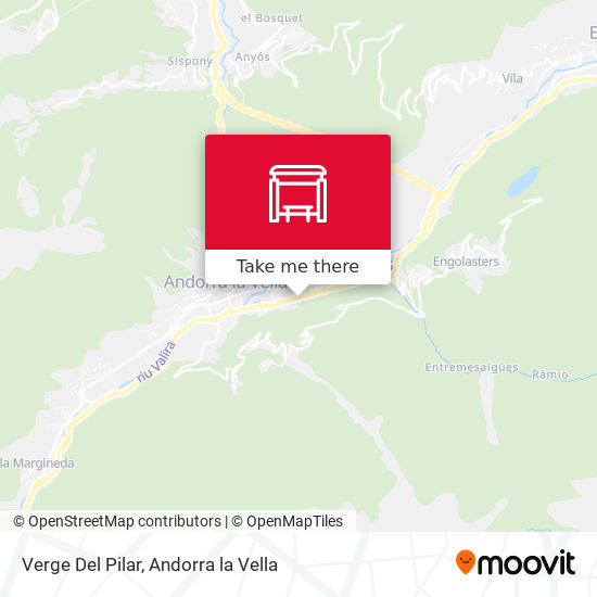 Verge Del Pilar map