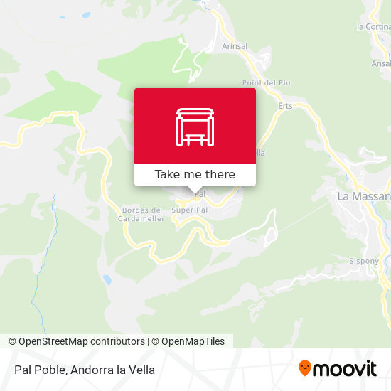 Pal Poble map