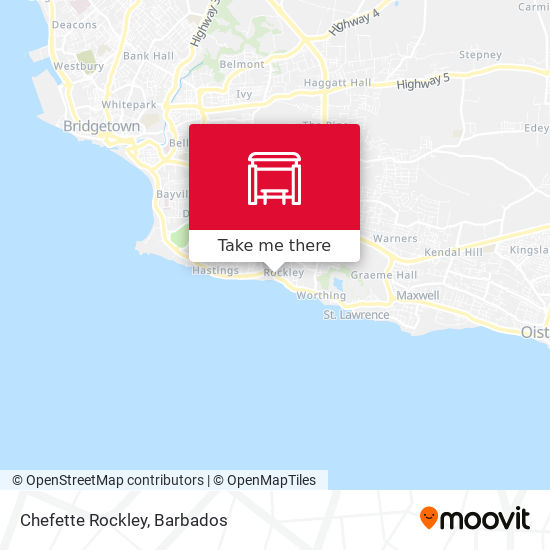 Chefette Rockley map