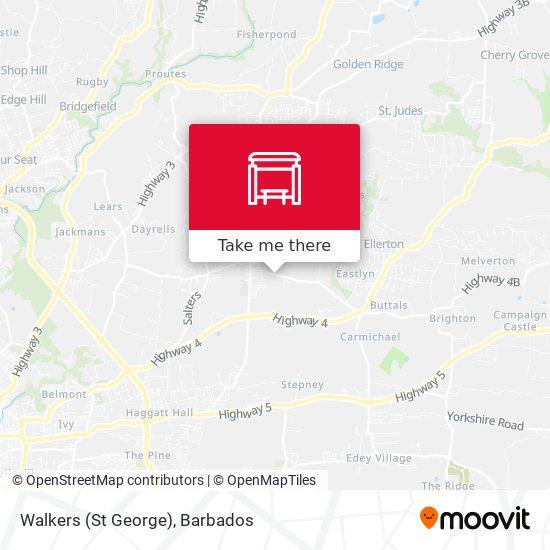 Walkers (St George) map