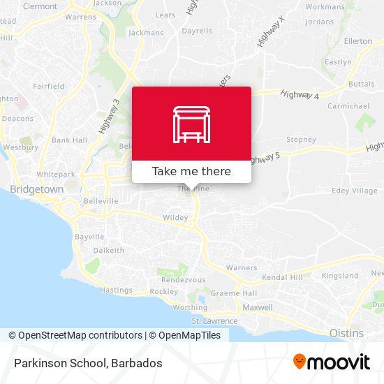 Parkinson School map