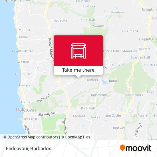 Endeavour map