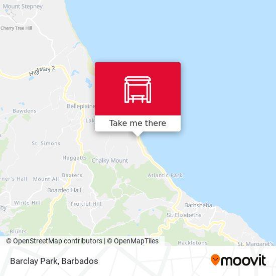 Barclay Park map
