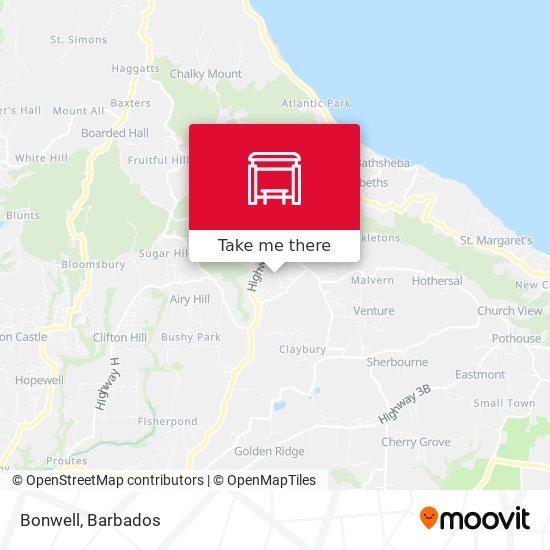 Bonwell map