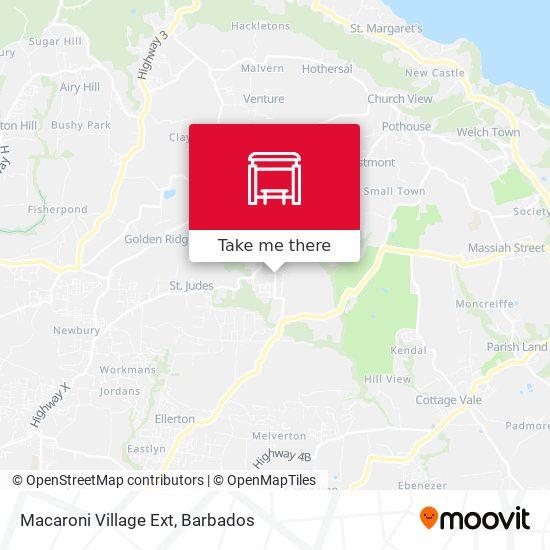 Macaroni Village Ext map