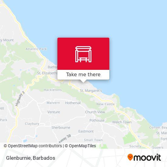 Glenburnie map