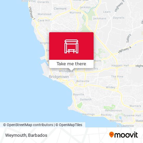 Weymouth map