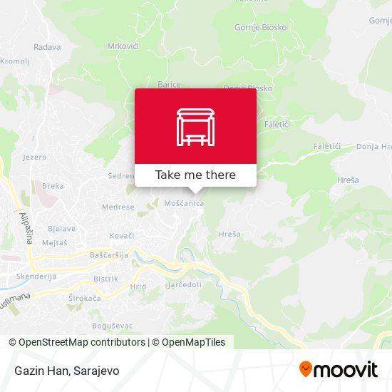 Gazin Han map