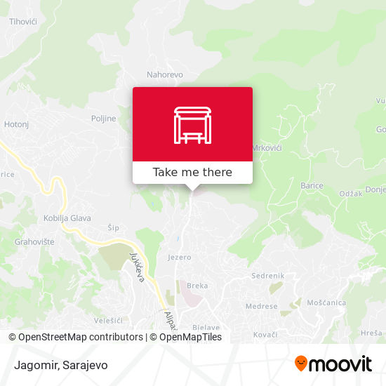 Jagomir map