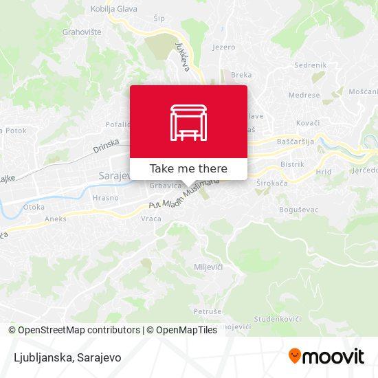 Ljubljanska map