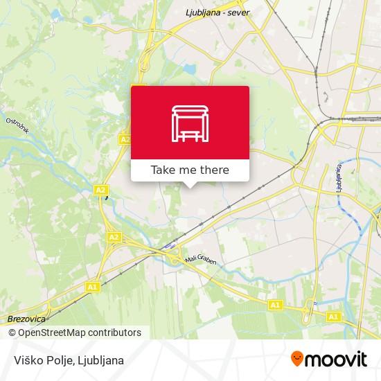 Viško Polje map