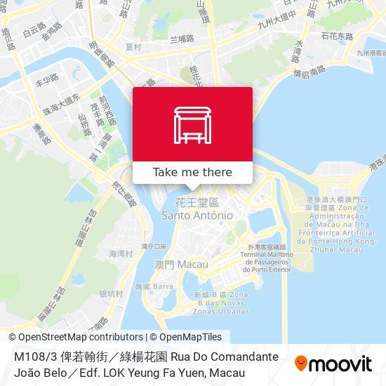 M108 / 4 筷子基社屋 Habitação Social Do Fai Chi Kei map