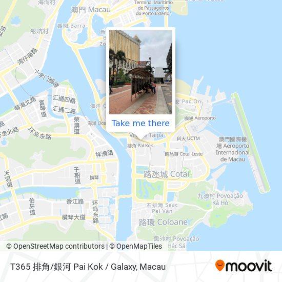 T365 排角/銀河 Pai Kok / Galaxy map