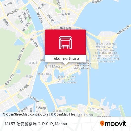 M157 治安警察局 C. P. S. P. map