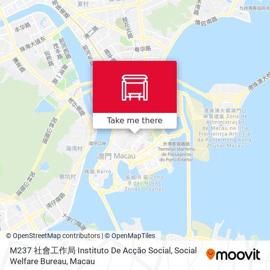 M237 社會工作局 Instituto De Acção Social, Social Welfare Bureau map
