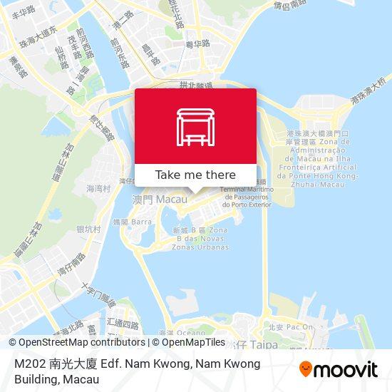 M202 南光大廈 Edf. Nam  Kwong, Nam Kwong Building map