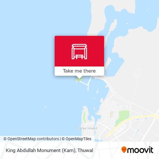 King Abdullah Monument (Kam) map