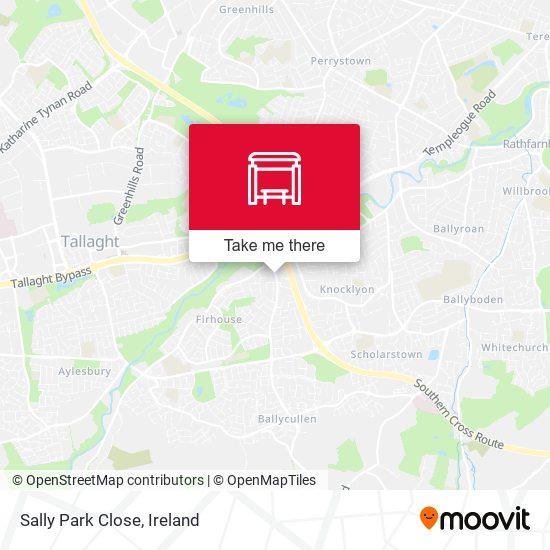 Sally Park Close, Stop 4760 map