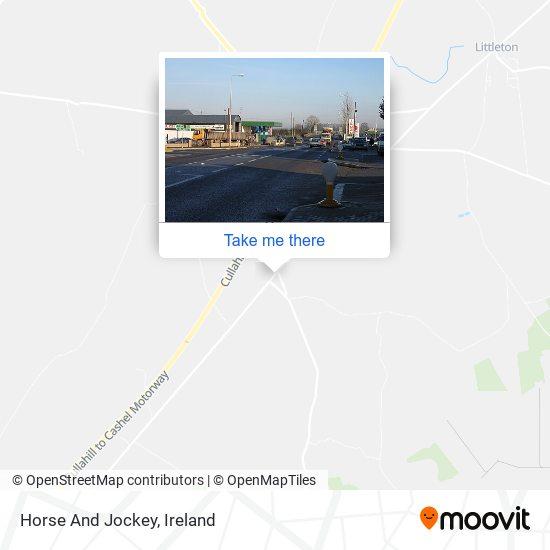 Horse And Jockey map