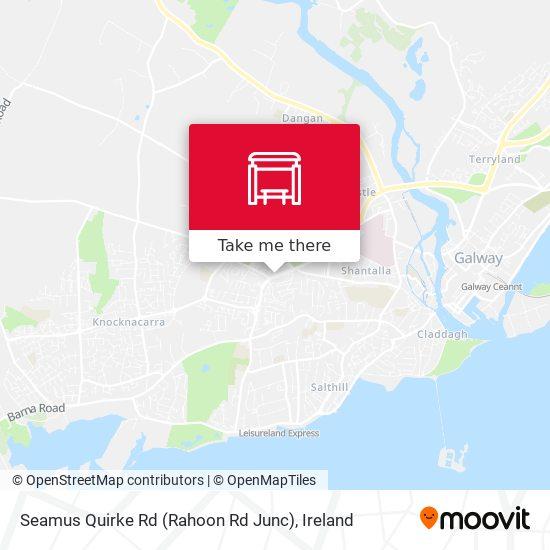 Seamus Quirke Rd (Rahoon Rd Junc) map