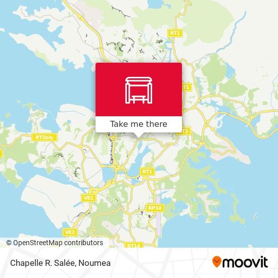 Chapelle R. Salée map