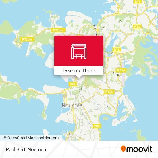 Paul Bert map