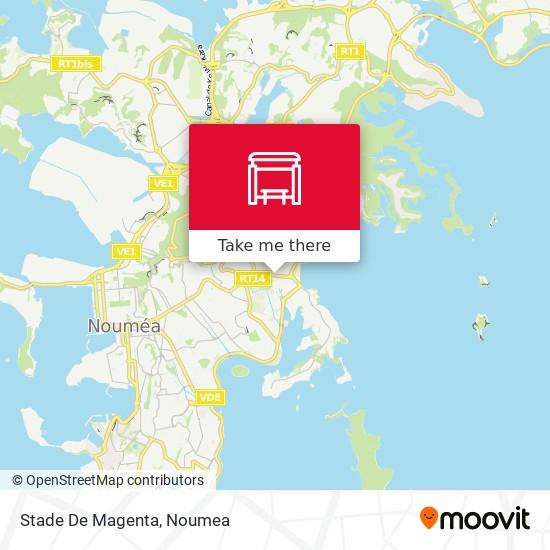 Stade De Magenta map