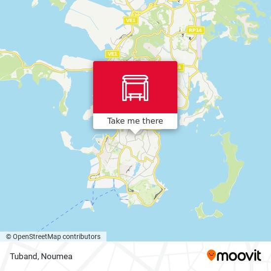 Tuband map