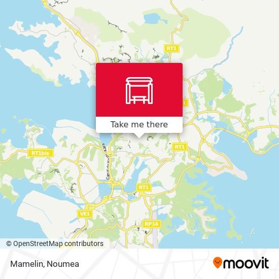Mamelin map