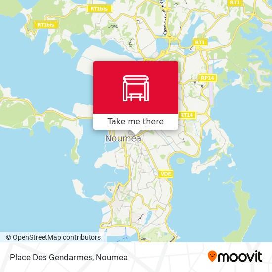 Place Des Gendarmes map